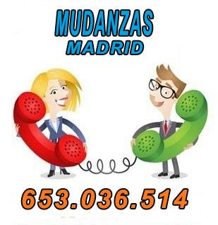 mudanza en Madrid