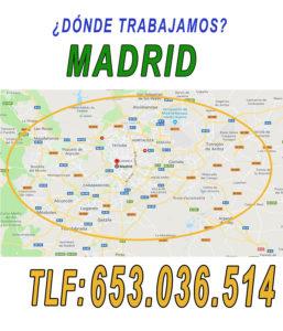 mudanzas madrid calle marques de la Valdavia Alcobendas