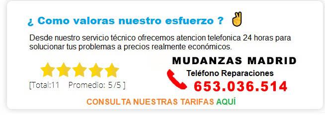 MUDANZAS MADRID PRECIOS